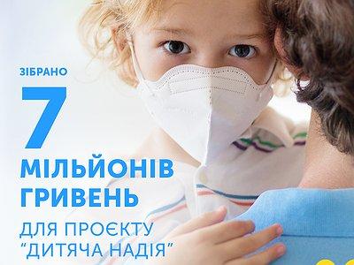 7 000 000 гривень на допомогу дітям