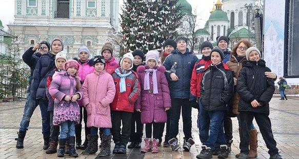 Діти мріють побачити Україну