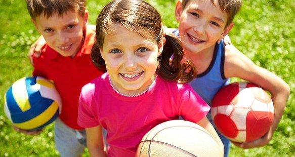 Спортивний майданчик для дітей-сиріт
