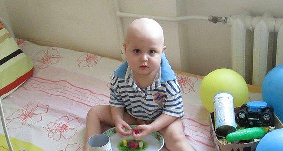 2-річний Ярик проти лейкозу
