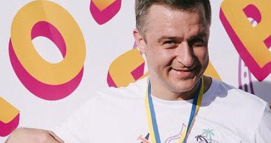Я біжу «Кілометри добра», Микола Кулеба