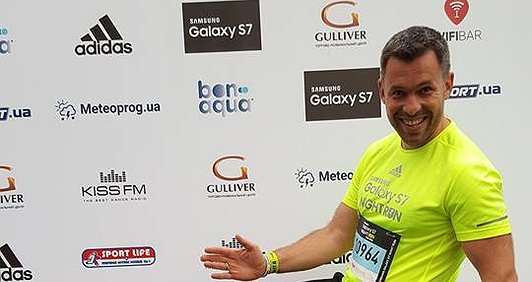 Я біжу марафон заради життя Олени Дубініної. Геннадій Попенко