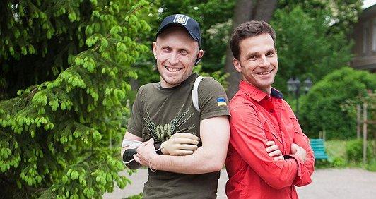 Роман Торговицький: біжу, щоб допомогти герою!