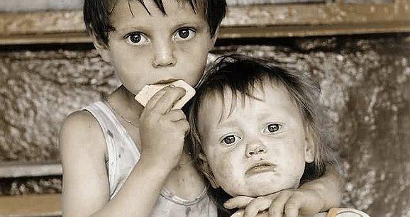 Дитинство не має бути голодним!