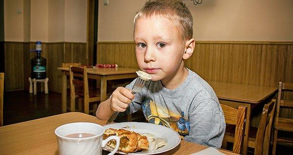 Їжа для дітей з притулку. Січень