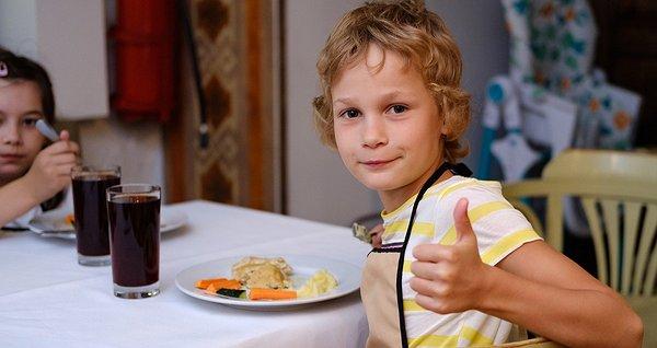 Їжа для дітей з притулку. Листопад 2018