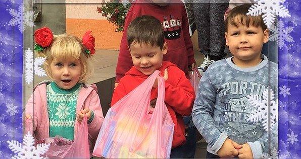 Новорічні подарунки дітям в зону АТО. 2