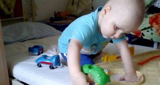 У трирічного Вані – рак крові. 2