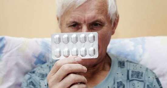 Pill for the old people. 5