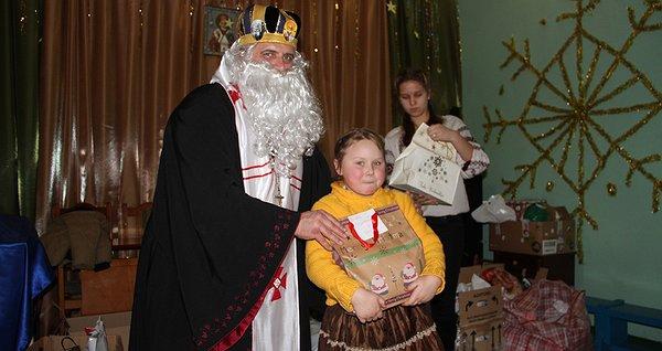 Солодкі подарунки від Святого Миколая