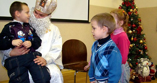You can become the real Saint Nicholas