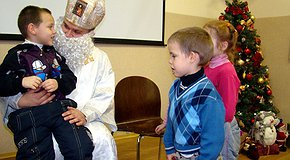 Святим Миколаєм можеш бути ти