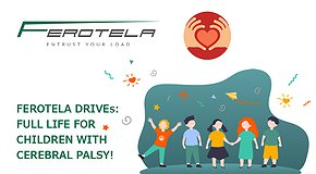 FEROTELA DRIVEs: full life for children with CP - 2