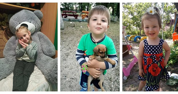 Врятуйте сердечка Єгора, Мирослави та Ніколь