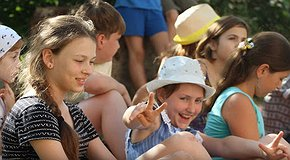 Camp for children from crisis families