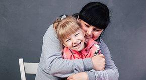 Little Polina dreams of dancing. 8