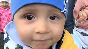 Patient Maksym fights with an illness