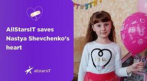 AllStarsIT saves Nastya Shevchenko's little heart