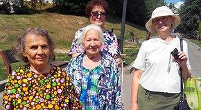 Екскурсія для стареньких