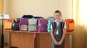 Шкільні портфелики для діток у скруті