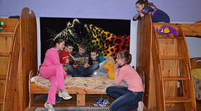 Новый текстиль для детского дома семейного типа